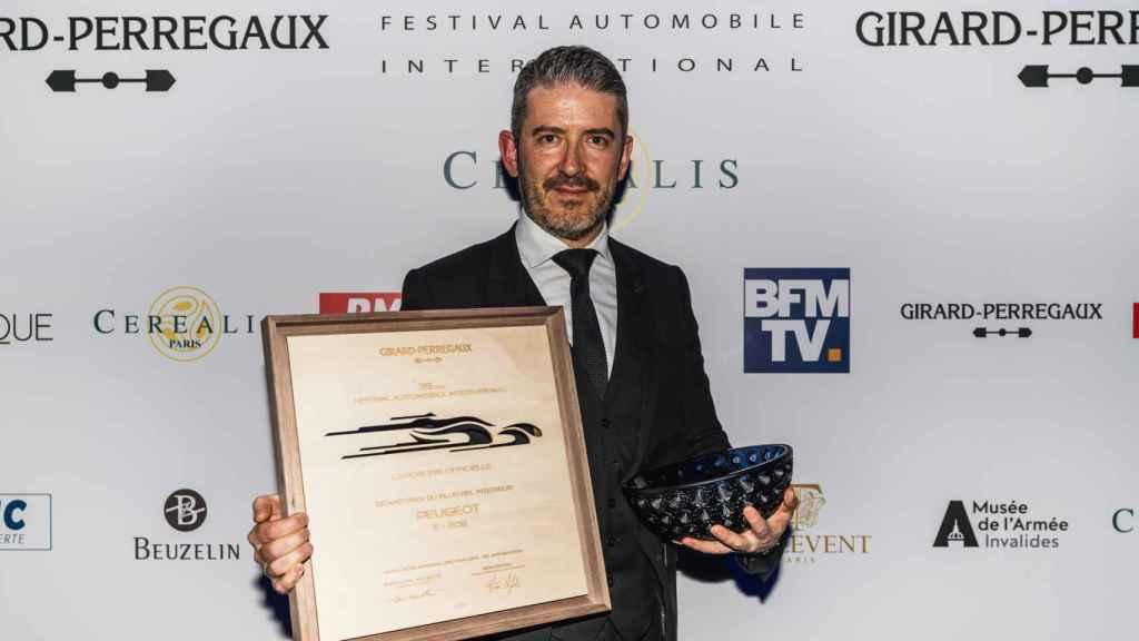 Gilles Vidal, exdirector de Diseño de Peugeot, ahora en Renault.