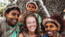 Imagen promocional de Vanuatu como destino turístico.