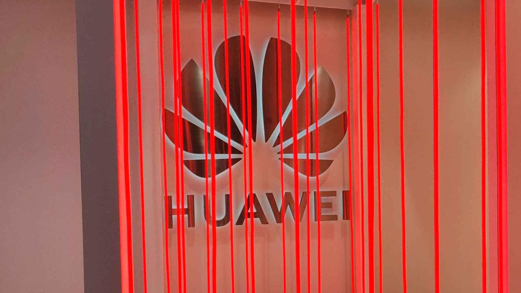 Logo de Huawei, en una imagen de archivo.