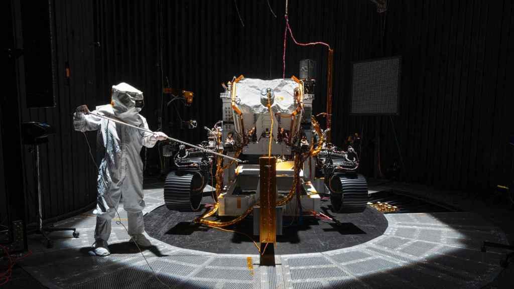 Rover Perseverance, en laboratorio