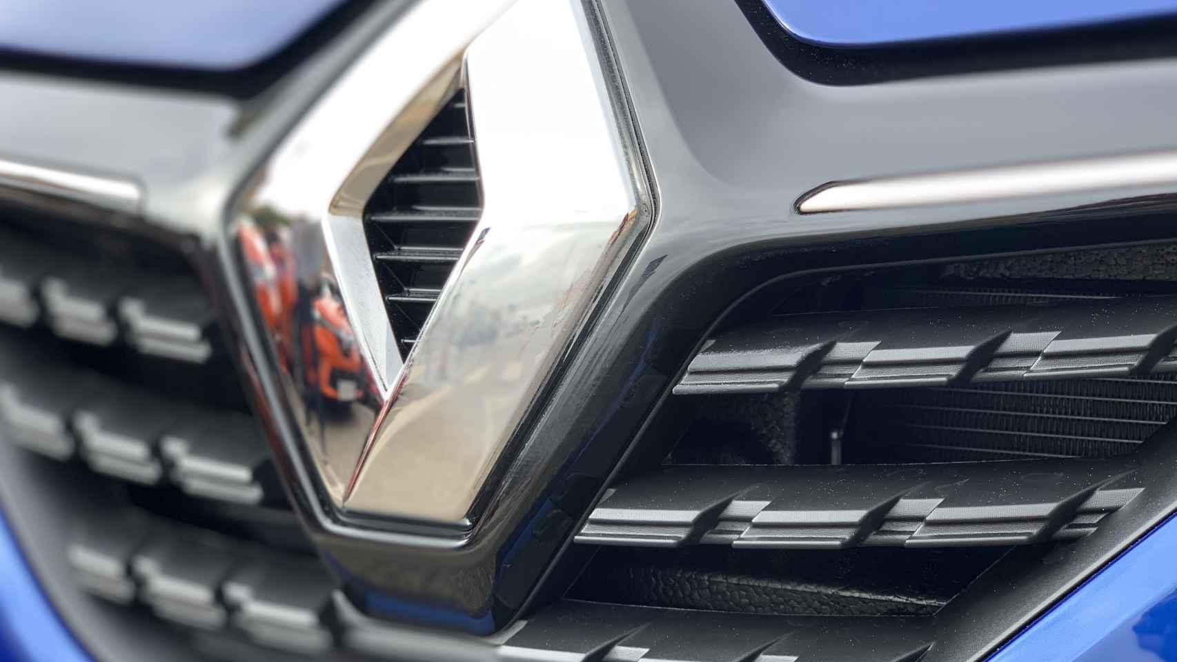 El logo de Renault.