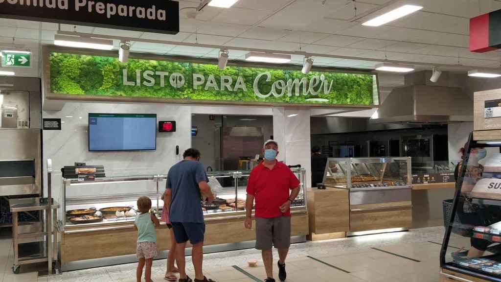El 'Listo para comer' del Mercadona de San Sebastián de los Reyes.