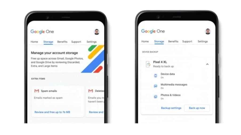 Google One.