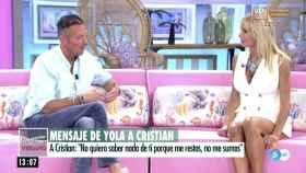 Yola Berrocal y Joaquín Prat en 'El Programa del Verano'.