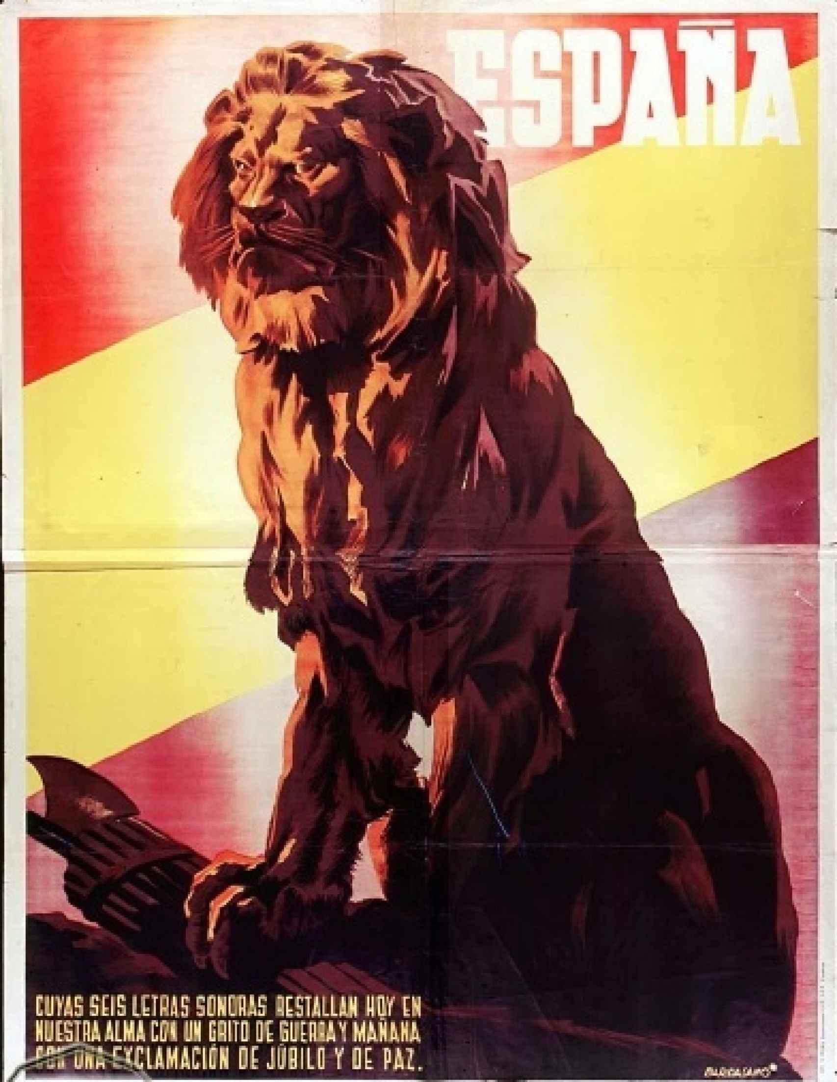 Cartel propagandístico republicano de José Bardasano.