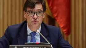 El ministro de Sanidad, Salvador Illa. EFE.