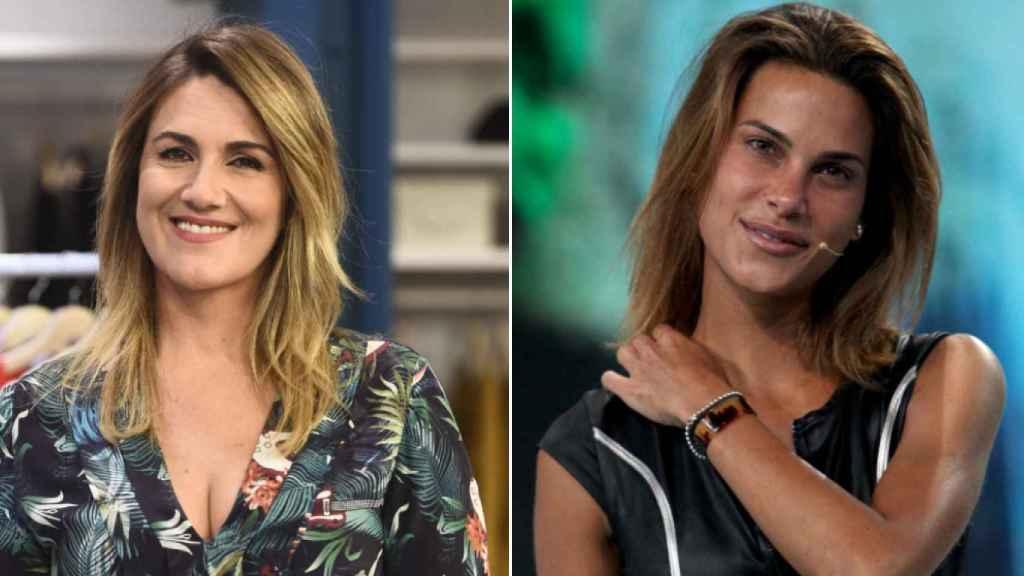 Carlota Corredera y Carla Barber.