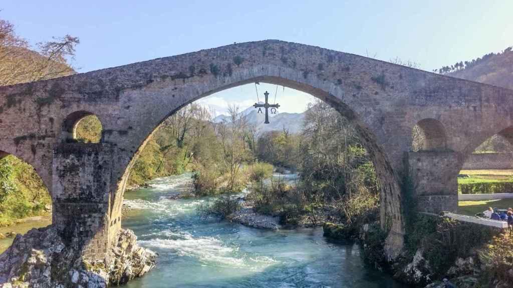 Puente romano, Cangas de Onís