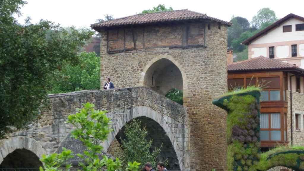 Puente Viejo, en Balsameda