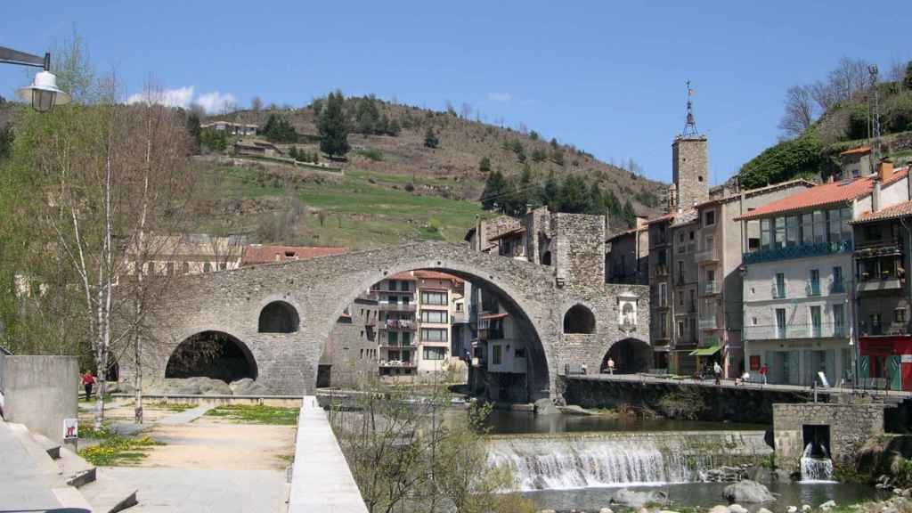Puente de Camprodón, Girona