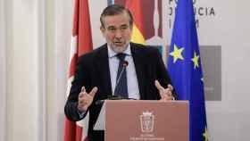 Enrique López, consejero de Justicia de la Comunidad de Madrid.
