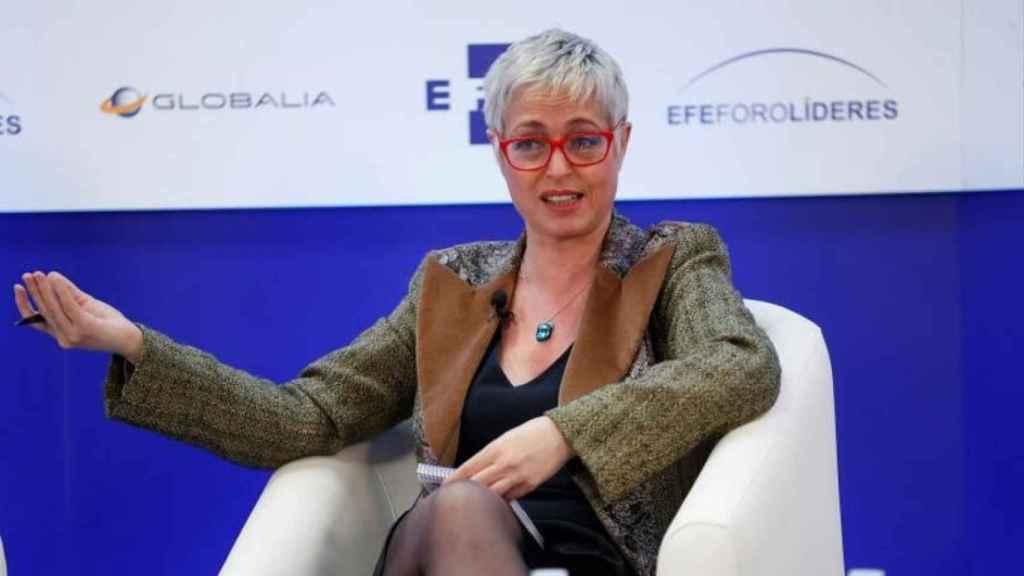 La escritora y periodista Anna Grau.