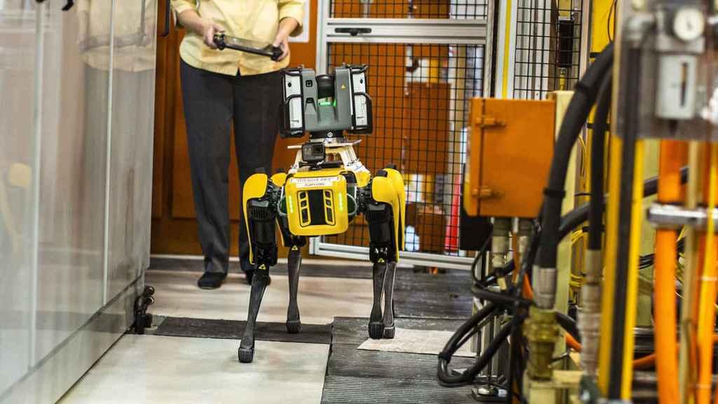 Estos perros robóticos inspeccionan las factorías de Ford