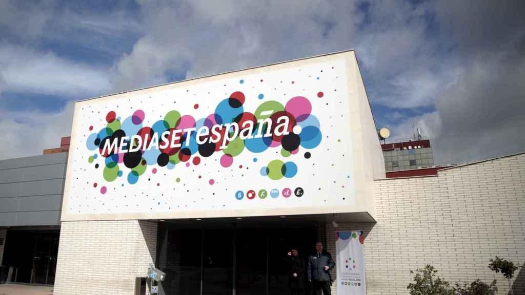Sede de Mediaset en Madrid, en una imagen de archivo.