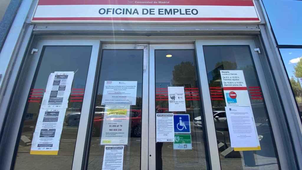 Una oficina de empleo, en una imagen de archivo.