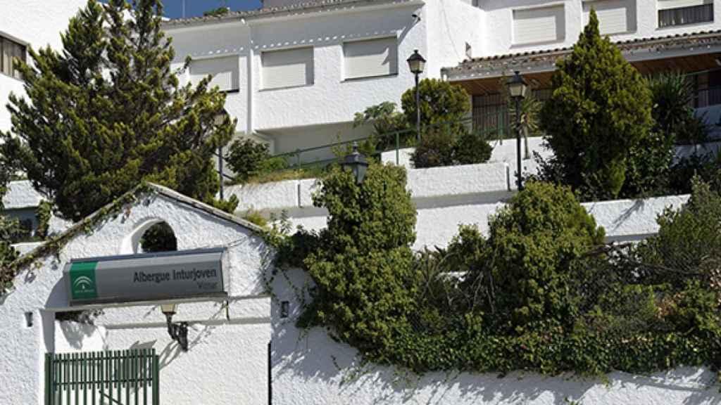 Centro Inturjoven de la Junta de Andalucía en Víznar (Granada), habilitado para inmigrantes asintomáticos.