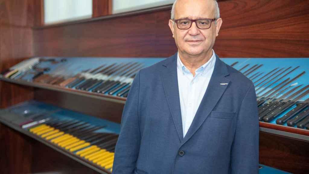 Pedro Arcos, director general de la empresa y octava generación de la familia de cuchilleros.