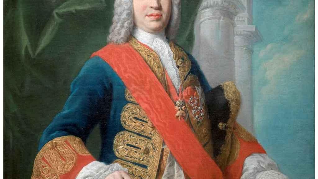 'Retrato del marqués de la Ensenada', por Jacopo Amigoni.