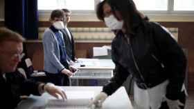 Los franceses votaron el pasado 15 de marzo, en pleno auge de la pandemia.