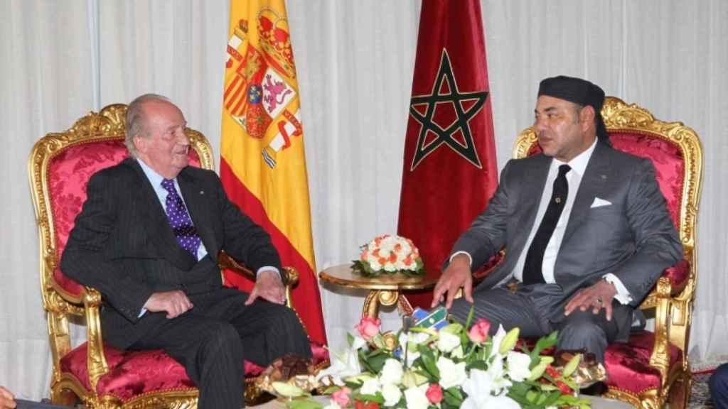 Juan Carlos I y Mohamed VI.