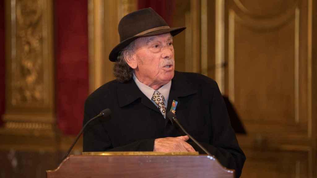 José Jiménez, activista y gitano de 73 años.