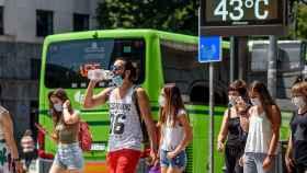 Ola de calor y alerta roja en País Vasco. EFE/ Javier Zorrilla