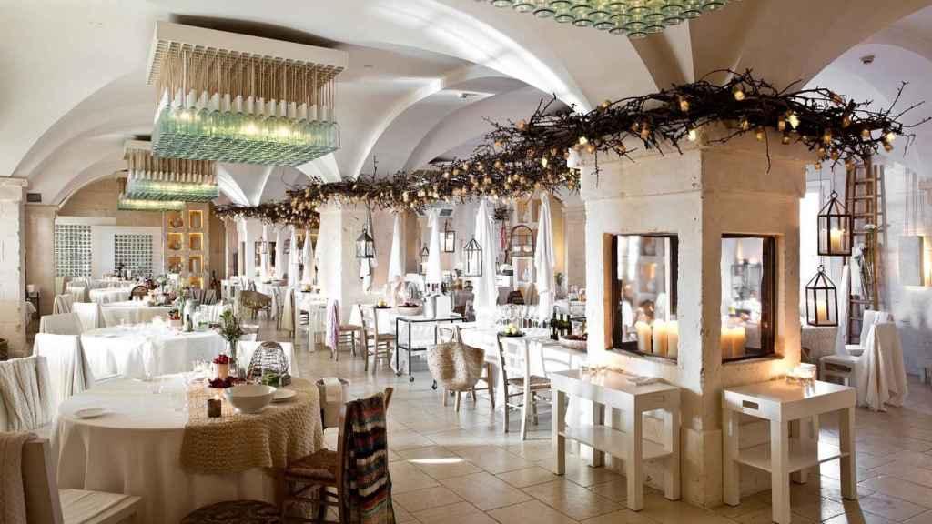 El restaurante Due Camini, con Estrella Michelin