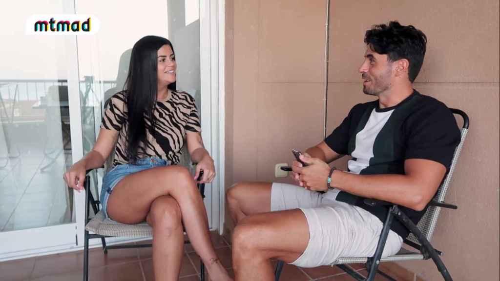Lola Ortiz, en una entrevista con Noel Bayarri.