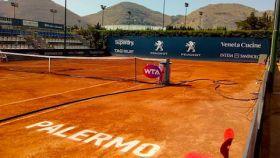 Pista del torneo WTA del Palermo