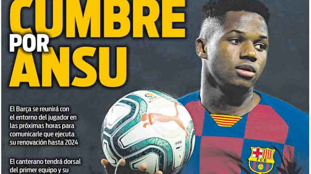 Portada Sport (31/07/20)
