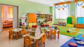 Imagen de archivo de una escuela infantil.