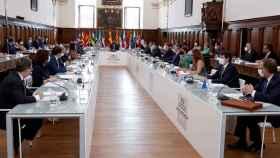 La Conferencia de Presidentes de San Millán de la Cogolla, en imágenes