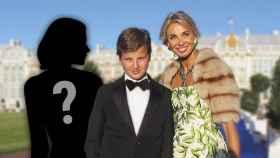 Noelia conoció a Corinna Larsen y su hijo durante la etapa de ambos en Madrid.
