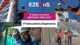 Una campaña de Ezentis.