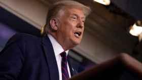 Trump aprovecha la caída histórica del PIB para pedir que se retrasen las elecciones