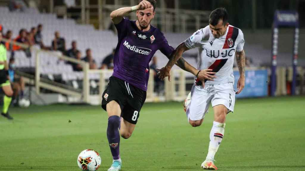 Castrovalli, jugador de la Fiorentina