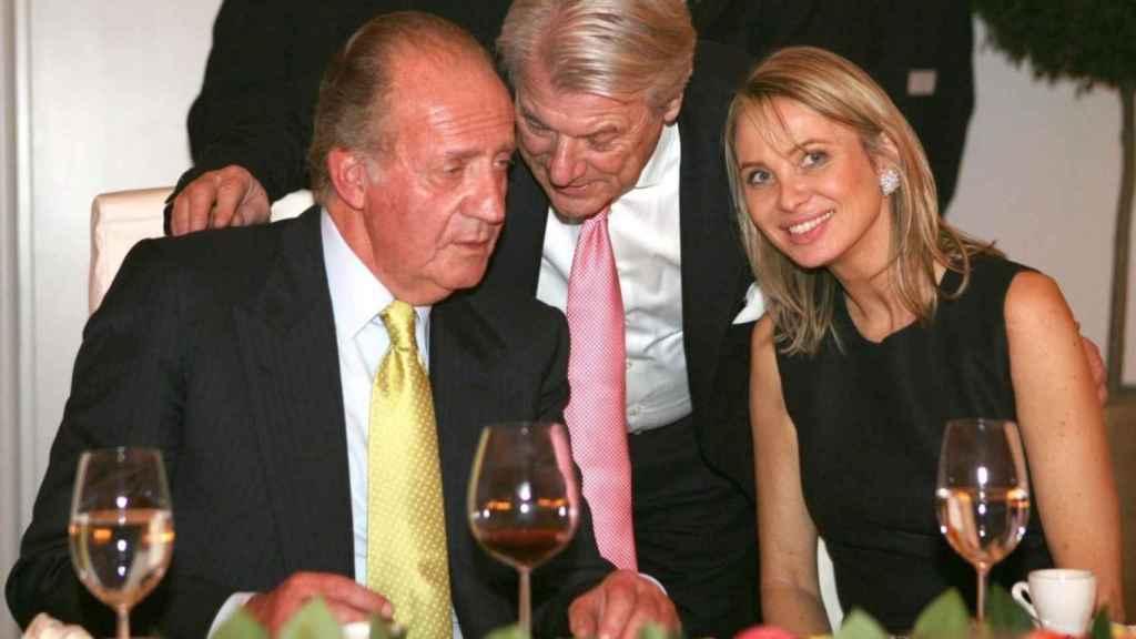 Juan Carlos y Corinna en una imagen de archivo.