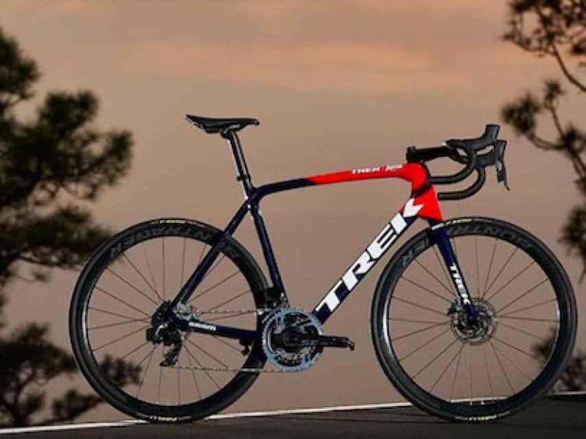 La bicicleta escaladora Trek Émonda
