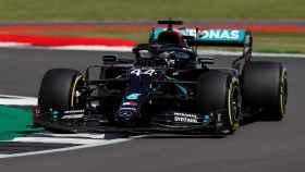 Lewis Hamilton, en el GP de Gran Bretaña