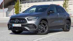 Esta es la unidad del nuevo Mercedes GLA 2020 que hemos probado.