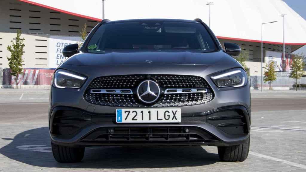 El nuevo Mercedes GLA ahora tiene una estética más de SUV.