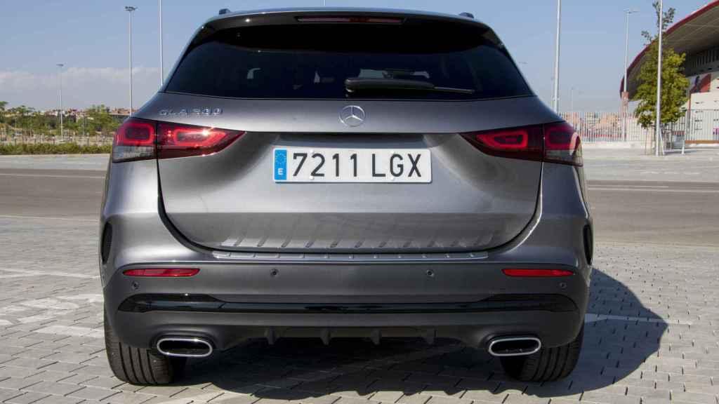 Este nuevo GLA es un rival del BMW X1 y del Audi Q3.