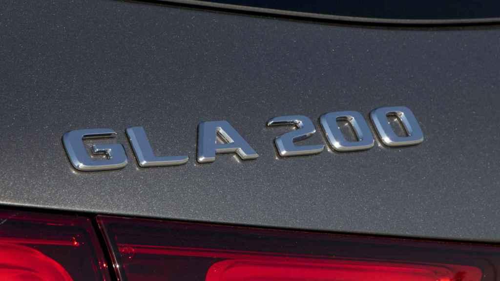 La versión probada es el GLA 200.