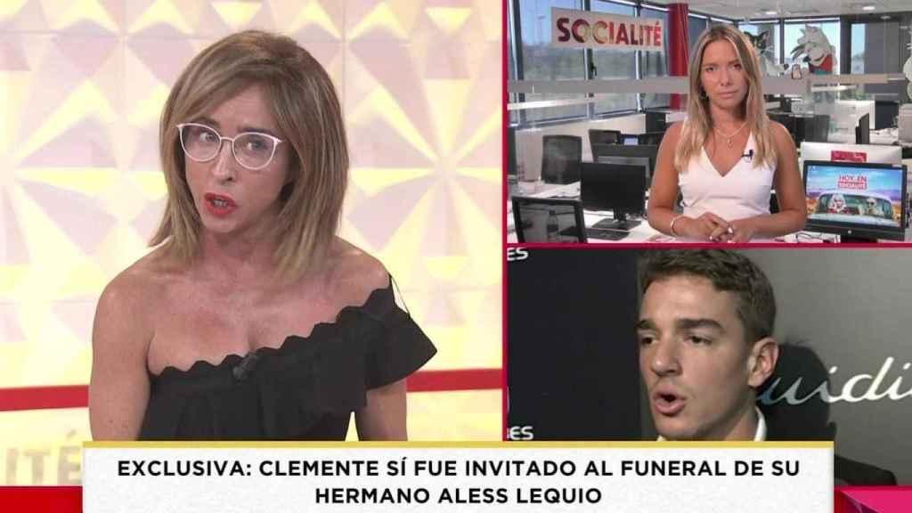 María Patiño ha defendido a Ana Obregón en 'Socialité'.