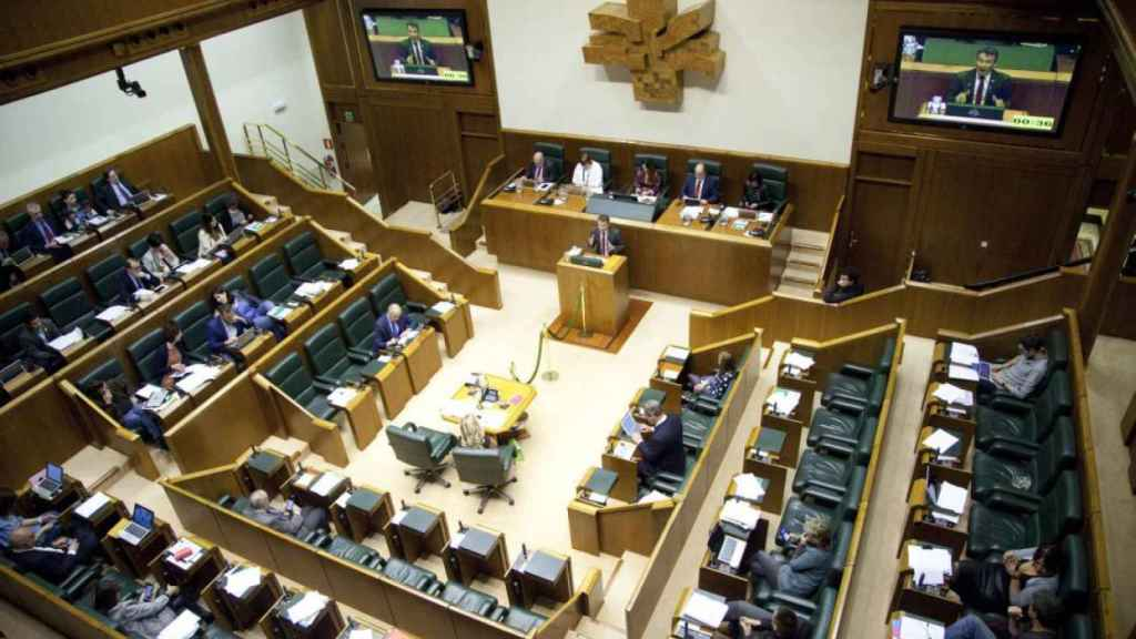 El Parlamento vasco.