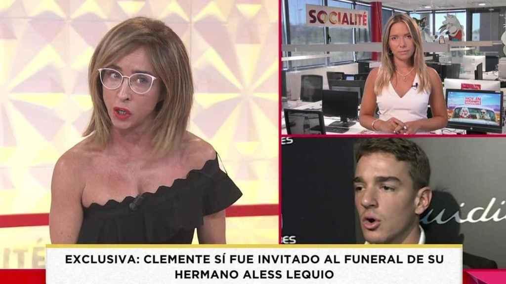 María Patiño desmintió las palabras de Antonia Dell'Atte en el programa 'Socialité'.