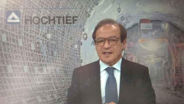 El presidente ejecutivo de Hochtief, Marcelino Fernández Verdes.