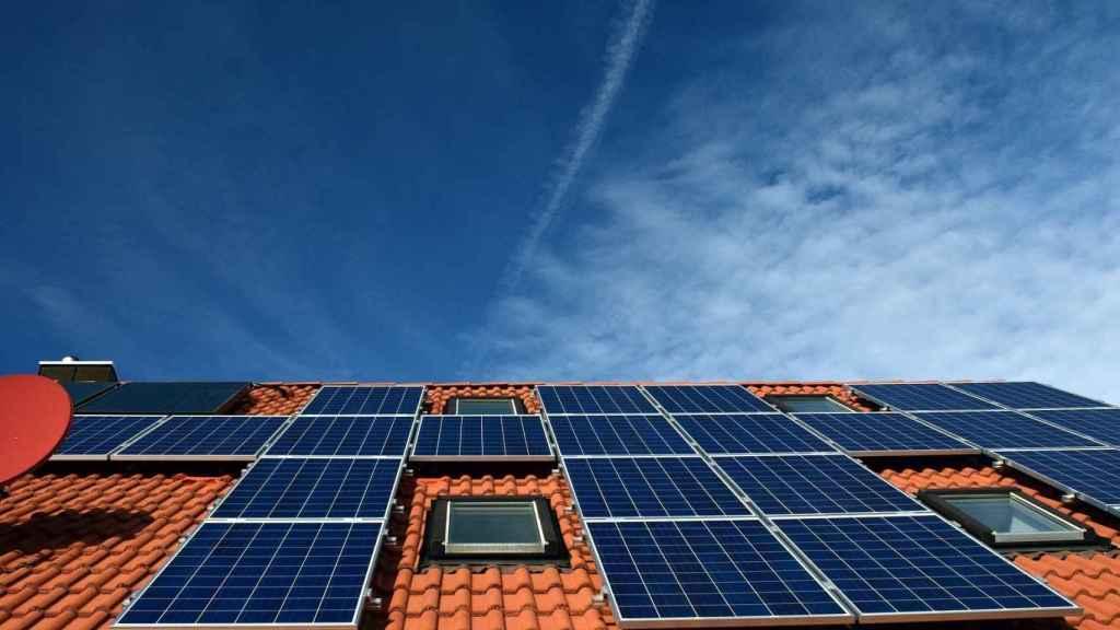Imagen de placas solares.