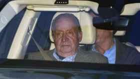 El rey Juan Carlos I en una imagen de 2018 en Santiago de Chile.
