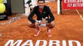 Djokovic en el Mutua Madrid Open